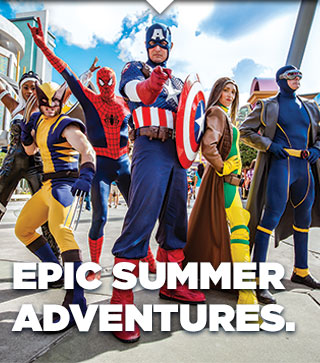 EPIC SUMMER ADVENTURES.