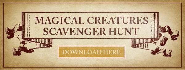 Magical Creatures Scavenger Hunt