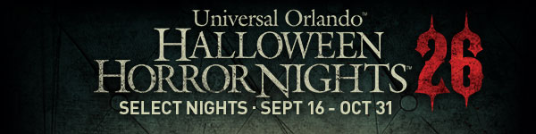 Universal Orlando ™ Halloween Horror Nights ™ | SELECT NIGHT SEPT 16 – OCT 31