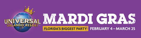 MARDI GRAS | Select Nights Feb 4 - Mar 25