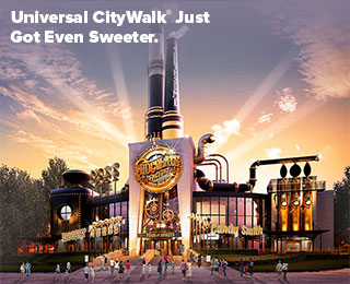 Universal CityWalk® Just Got Even Sweeter.